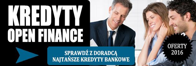 Najtańsze kredyty bankowe z doradcami Open Finance